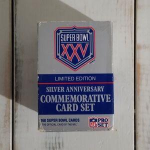 NFL Super Bowl XXV Commemorative Deck